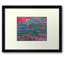 Chipping Paint Framed Print