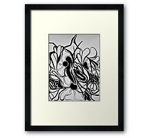 Distorted Views Framed Print