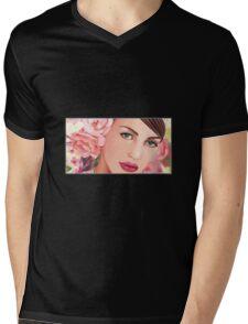 Lady Vine Tshirt Mens V-Neck T-Shirt