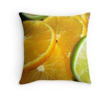 Yummy Citrus Throw Pillow
