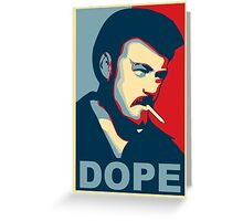 DOPE Ricky Greeting Card
