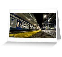 Trenitalia Greeting Card
