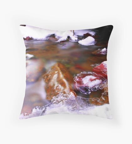 Troll Bridge Throw Pillow