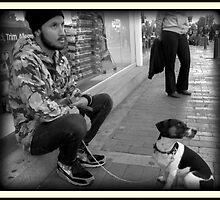 Man and Dog by danielgomez