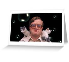 Bubbles and Kitties Greeting Card