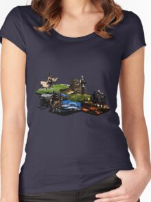 Settlers of Middle Earth Women's Fitted Scoop T-Shirt