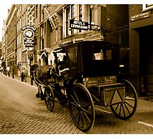 OLD FASHIONED AMSTERDAM Photographic Print