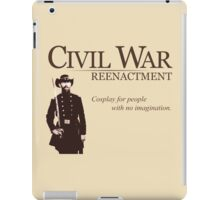 Civil War Cosplay iPad Case/Skin