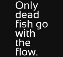Dead Fish white by m4x1mu5