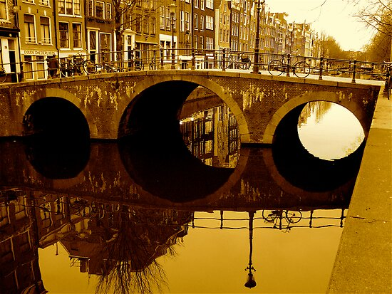 GOLDEN AMSTERDAM by Scott  d'Almeida