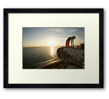 Morning's Breath of Fresh Air Framed Print