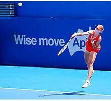 Wise move (Elena Dementieva) Photographic Print