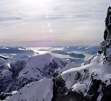 Cathedral Peak near Bariloche, Argentina by aguakina
