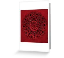 Doily Joy Mandala- Deep Roots Greeting Card