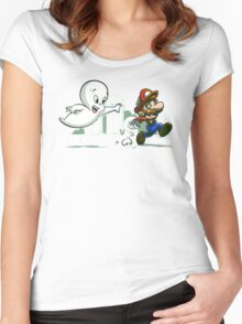 Phasmophobia Women's Fitted Scoop T-Shirt