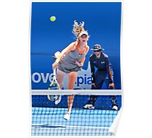 Serve (Caroline Wozniacki) Poster