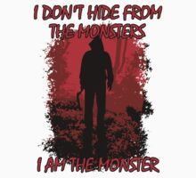 I Am The Monster Kids Tee