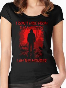 I Am The Monster Women's Fitted Scoop T-Shirt