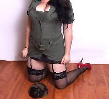 Army Girl by palmerley