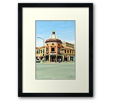 City Plaza at Noon (02) Framed Print