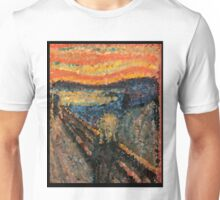 Low-Poly The Scream Unisex T-Shirt