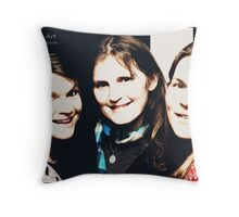 Frye Girls Throw Pillow