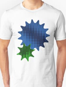 Spike Stars Blue and Green T-Shirt