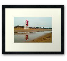 Burnham Lighthouse Framed Print