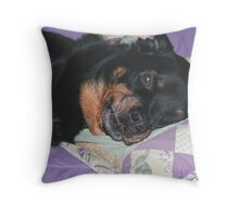 Spoiled Rotten Throw Pillow
