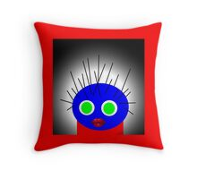Art on a pillow, POLLY DOLLOPS collectable gifts Throw Pillow