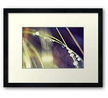 Intermission over Framed Print