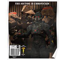 SCI FI    COMIC    COVER Poster