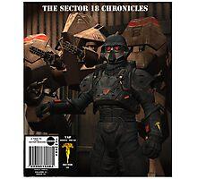 SCI FI    COMIC    COVER Photographic Print