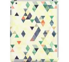 Mixed colors triangles iPad Case/Skin