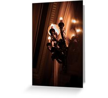 Pale Reflections Greeting Card