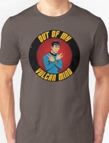 """Out of my Vulcan Mind"" by The Blasted Tower T-Shirt"