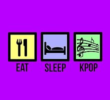 EAT SLEEP KPOP - PURPLE by Kpop Love