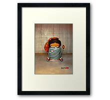 CHUNKIE China Framed Print