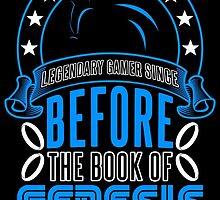 Before The Book Of Genesis (Sonic Legendary Gamer) by rockyvega6