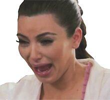 Kim Kardashian Crying by foreversarahx