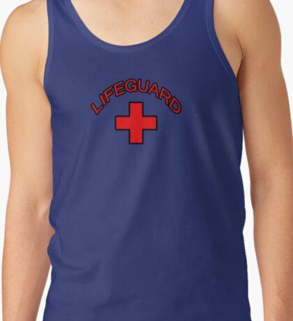 Red Lifeguard Clothing Tee Tank Top