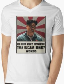 The Interview Fact Mens V-Neck T-Shirt
