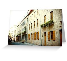 Old Quebec Street Greeting Card