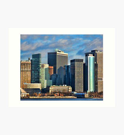 Battery Park  NYC Art Print