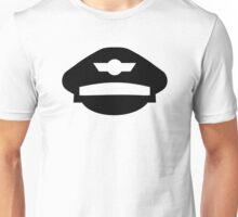 Pilot uniform hat Unisex T-Shirt