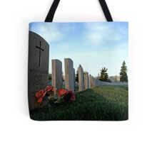 Twilight For Fallen Soldiers Tote Bag