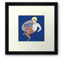 Armin in Chucks Framed Print