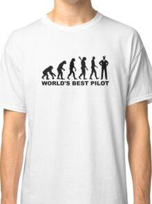 Evolution world's best Pilot Classic T-Shirt