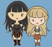 Xena & Gabrielle - Lil' CutiEs by Ellador