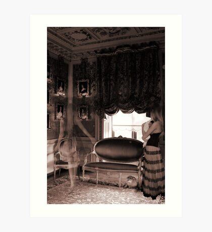 Gordon Manor Art Print